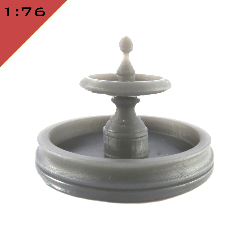 Round Classical Fountain