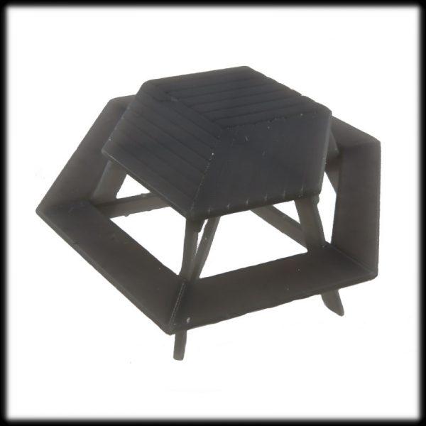 Hexagonal Picnic Table