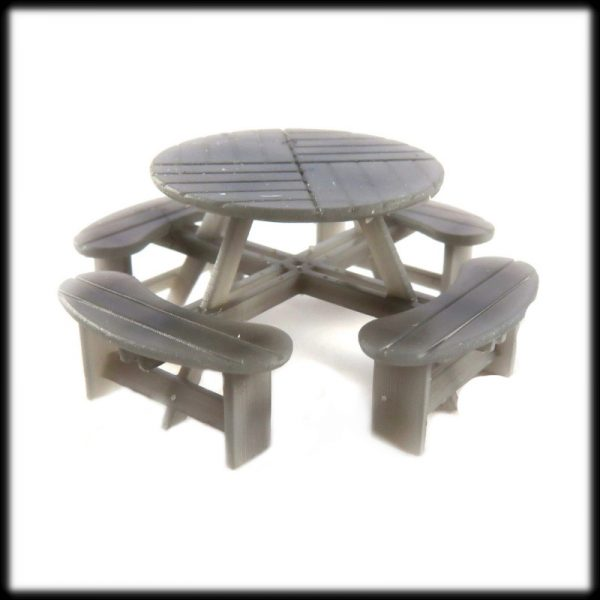 Picnic Table Round