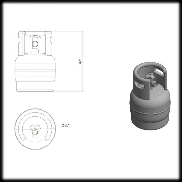 LPG Bottle (3.9kg)