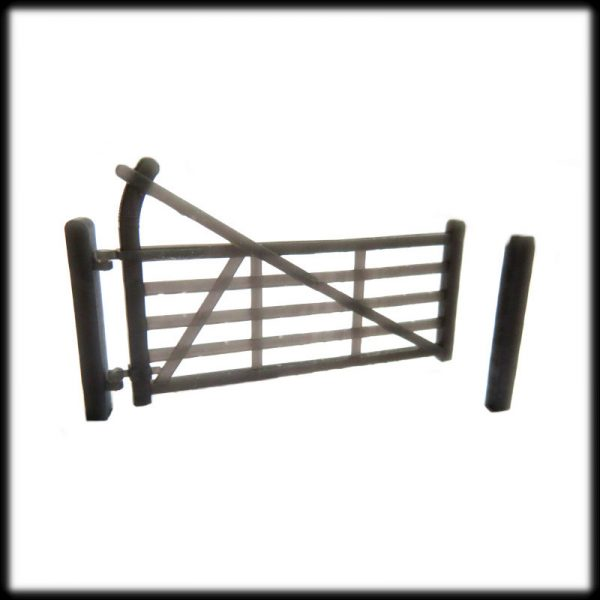 Curved Heel Single Swing Gate