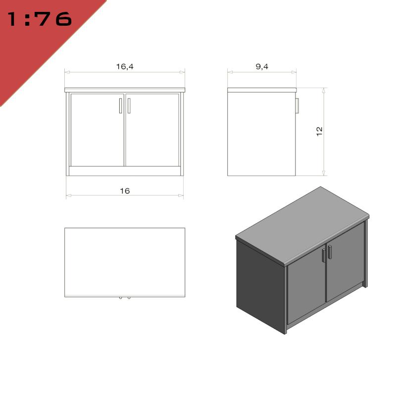 Kitchen Cupboard Unit