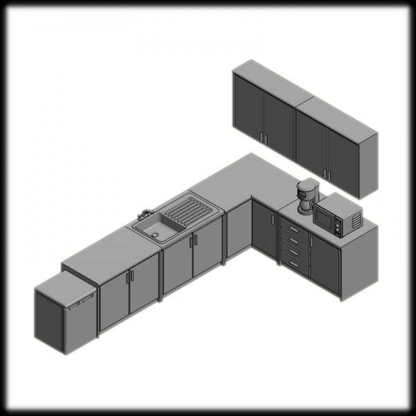 Kitchen Furniture & Appliances Small Set