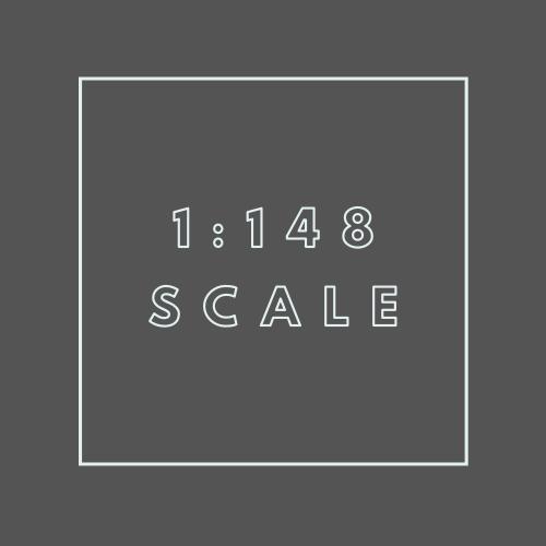 1:148 scale (N Gauge)