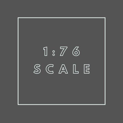 1:76 scale (OO Gauge)