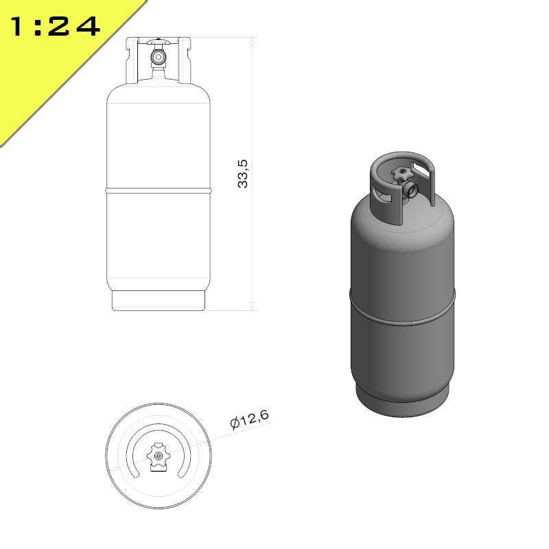LPG Bottle 19kg