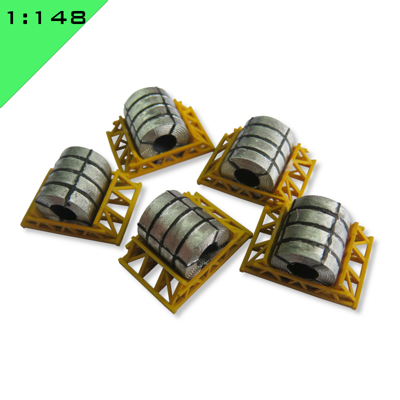Coil Load in Cradle