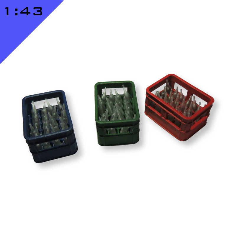 Crate with Bottles